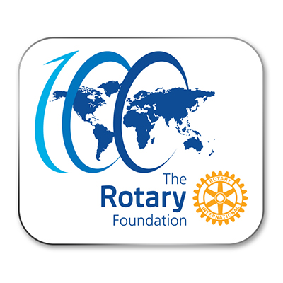 R10304 - Centennial Rotary Foundation Pin